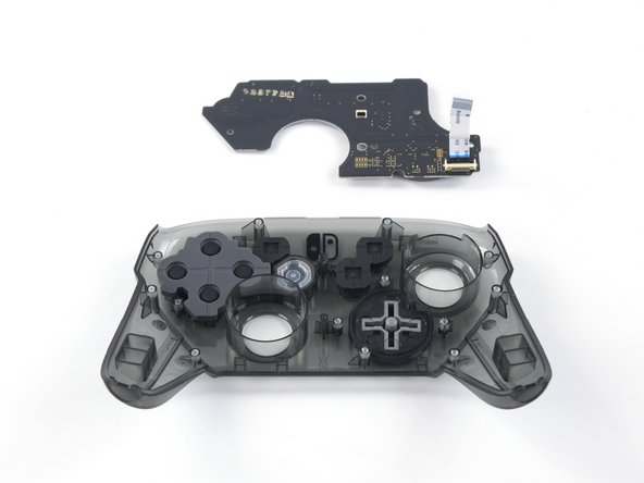 Nintendo Switch Pro Controller Front Button Replacement