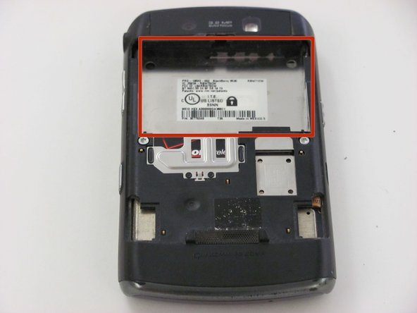 Blackberry Storm 9530 Battery Replacement