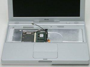 iBook G3 12 Zoll RAM tauschen
