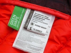 What's the right way to wash and dry my Vaude down jacket?