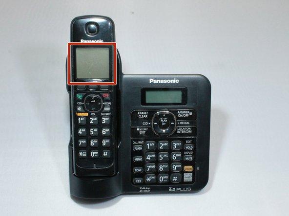 Panasonic KX-TG6641 Handset Display Screen Replacement