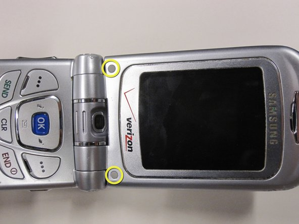 Samsung SCH-A890 Front Screen Replacement