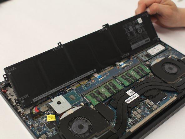Dell XPS 15 9550 Vervanging van de batterij