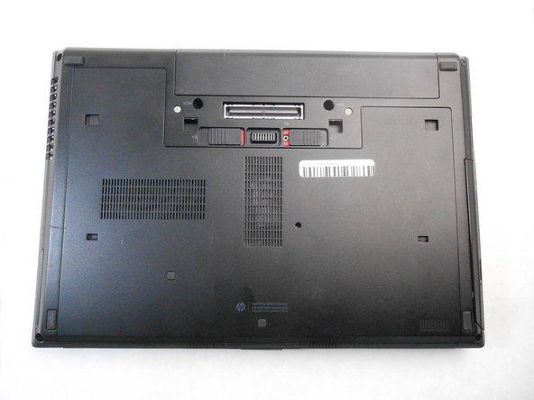 HP Elitebook 8460p Back Panel Replacement