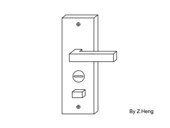 更换防盗门的锁芯