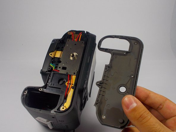 Nikon D90 Bottom Casing Replacement