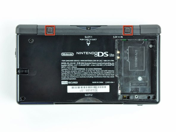 Nintendo DS Lite Lower Case Replacement