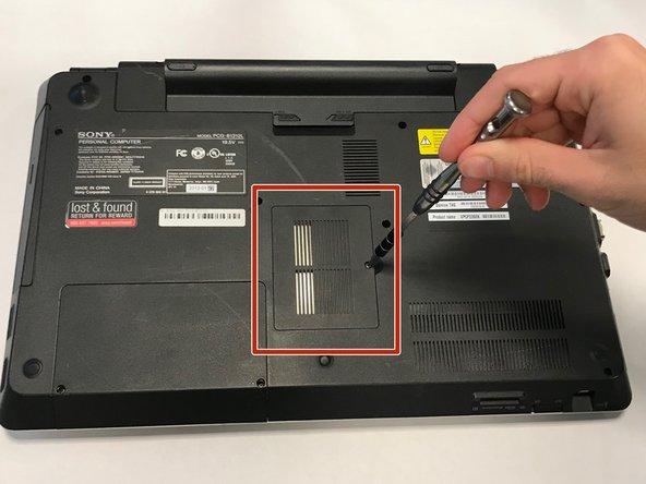 Sony Vaio PCG-81312L RAM Replacement