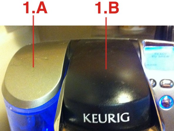 How to clean the top needle of the Keurig B77