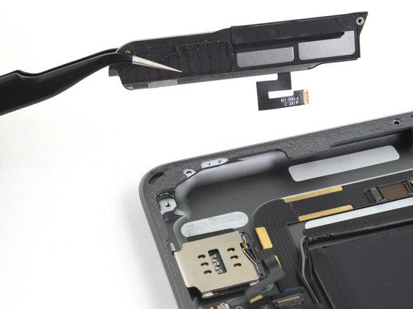 iPad 7 Right Speaker Replacement