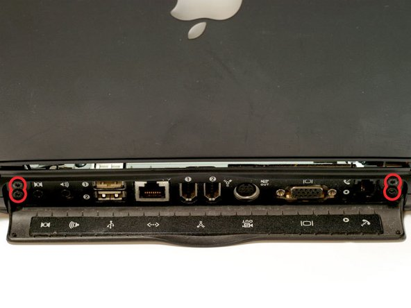 PowerBook G3 Pismo Display Replacement