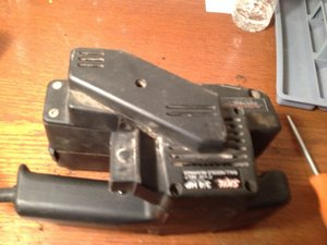 Skil Model 7313 Belt Sander Repair