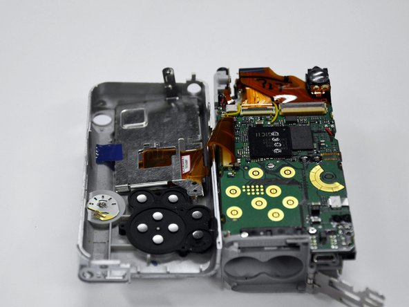 Canon PowerShot A460 Back Casing Replacement