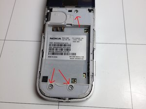 Nokia 2605 Teardown