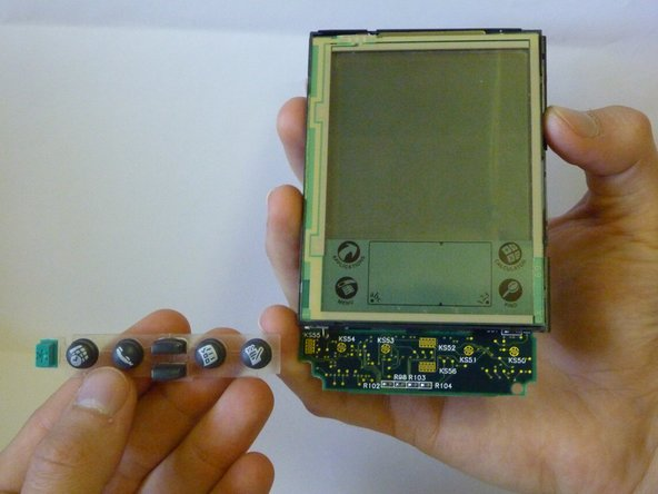 Palm Pilot Professional 3com Keypad Replacement