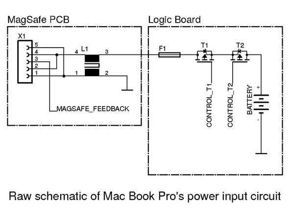 "MacBook Pro 15"" Logic Board's Power Input Circuit Repai"
