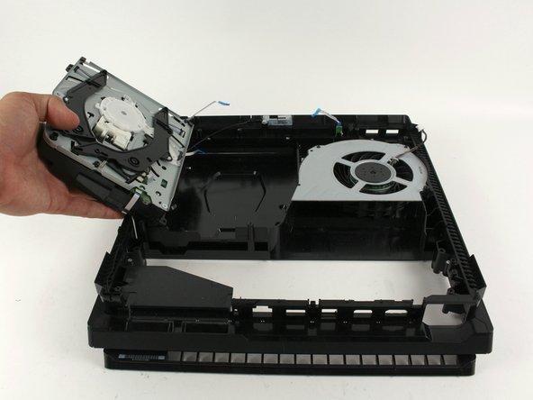 Remplacement du disque optique du PlayStation 4 Pro