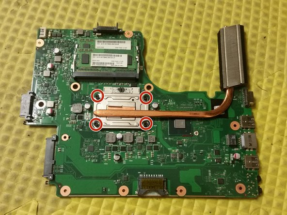 Toshiba Satellite C655D-S5200 Motherboard Replacement