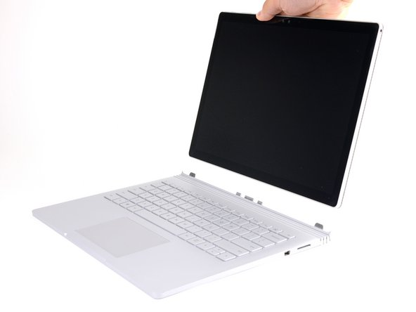 How to Detach the Keyboard on a Surface Book