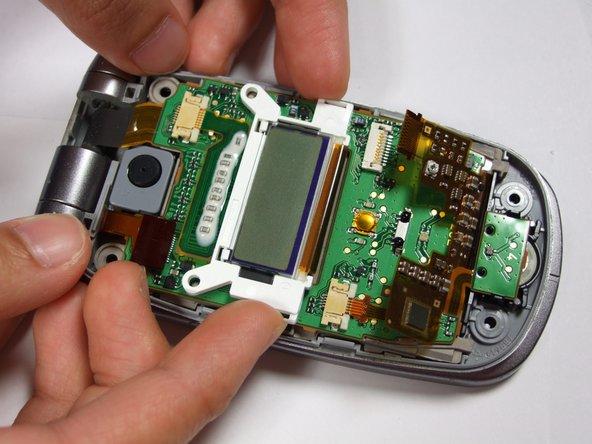 Disassembling Panasonic GU87 Minor-LCD