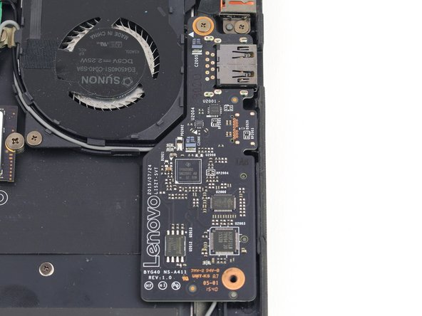 Lenovo Yoga 900-13ISK Left Daughterboard Replacement