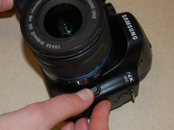 Samsung NX30 Lens Replacement