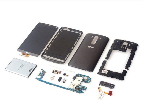 LG G3 teardown is done.