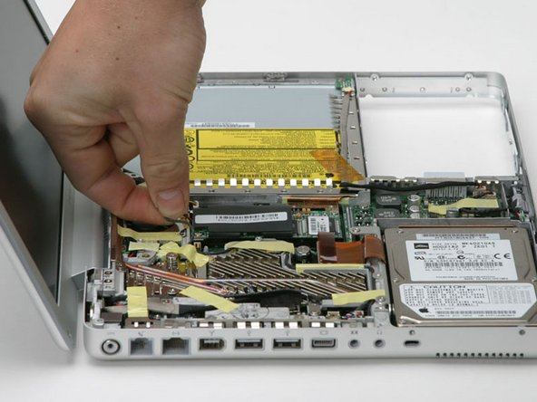 "PowerBook G4 Aluminum 12"" 867 MHz RJ-11 Board Replacement"