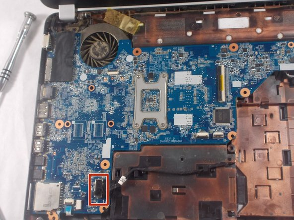 HP Pavilion g4-1117dx Motherboard Replacement