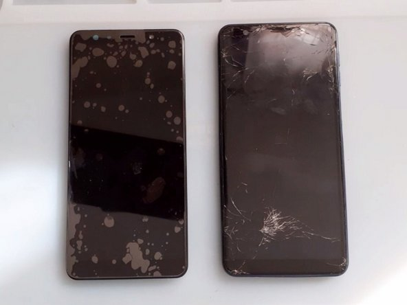 It's better to use Display Assembly (Screen With Frame) to fix your broken device.