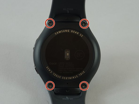 Sostituzione cinturino Samsung Gear S2