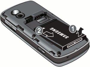 Disassembling Samsung Gravity SGH-T459  Battery