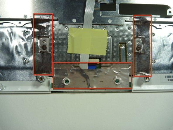 Identify the conductive foil.