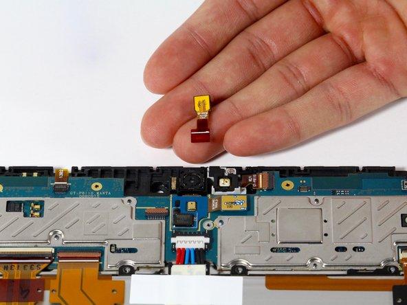 Nexus 10 Front Facing Camera Replacement
