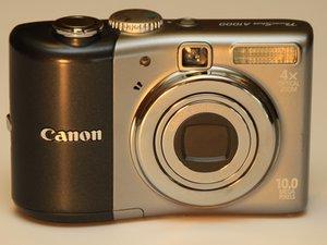 Canon PowerShot A1000 IS Teardown
