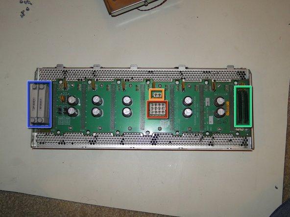 The SCSI backplane