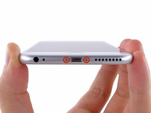 Desligue seu iPhone antes de começar a desmontá-lo.