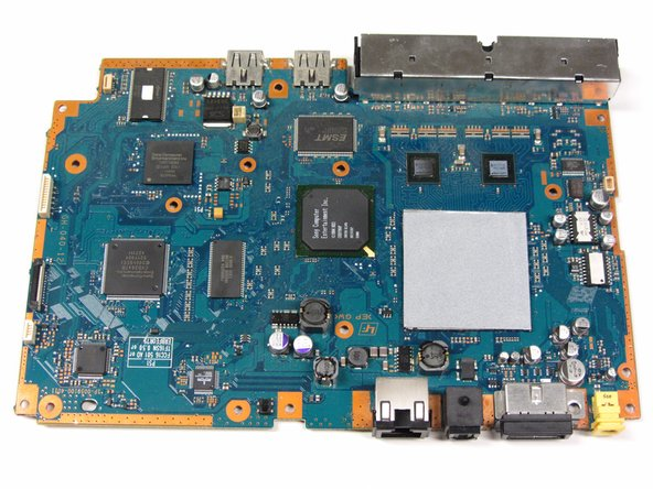 PlayStation 2 Slimline SCPH-7500x Motherboard Replacement