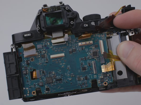 Sony a7 Motherboard Replacement