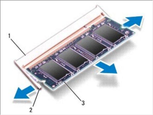 Dell Studio 1749 Memory Module Replacement