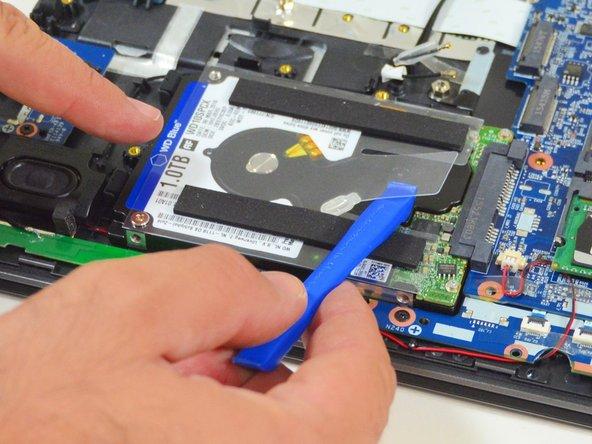 why! N240JU Remplacement du disque dur (stockage de masse)