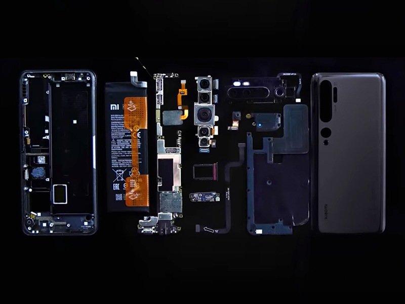 Xiaomi Mi Note 10 Teardown - iFixit