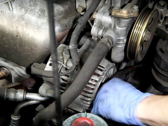 1998-2002 Honda Accord Drive Belt Replacement