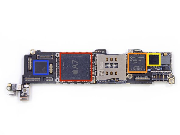 Turning our attention to the backside of the logic board: