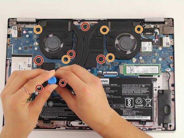 Lenovo Yoga 720-15IKB Fan Replacement