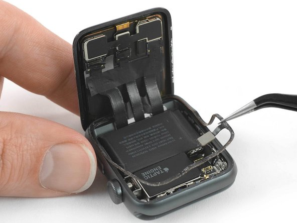 Use a pair of tweezers to peel off the Force Touch gasket.