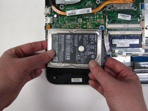 HP Pavilion 17-g119dx Hard Drive Replacement