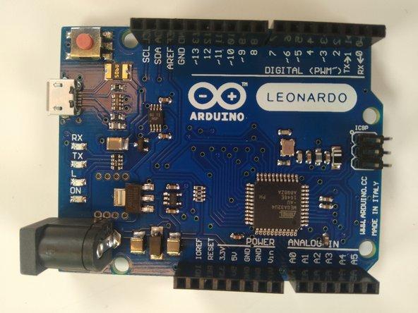 Arduino Leonardo Bootloader Replacement