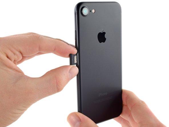 iPhone 7 SIM-Karte austauschen