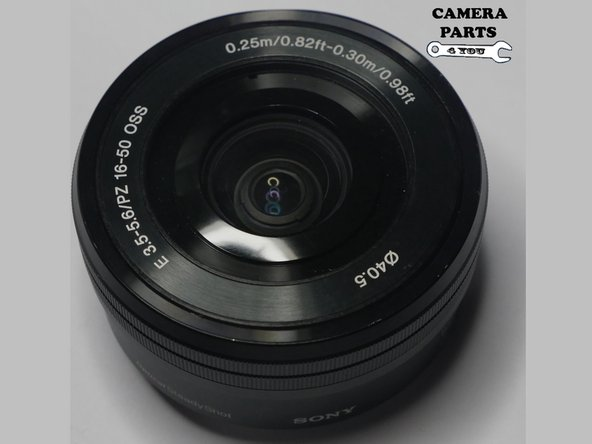SELP1650 SELP 1650  Sony Lens Disassembly